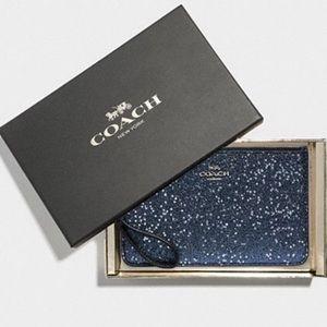 COACH Star Glitter Wristlet Set